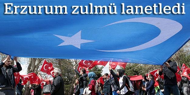 Ermeni katliamını protesto yürüyüşü