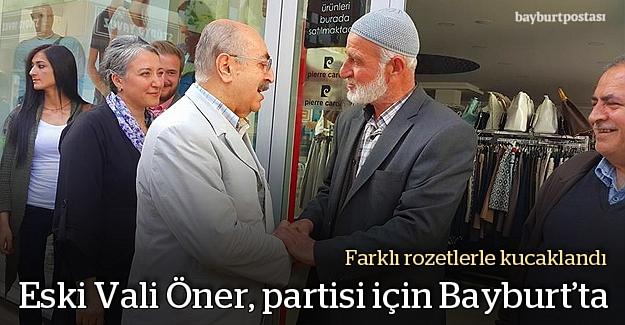 Eski Vali Öner, CHP adaylarına oy istedi