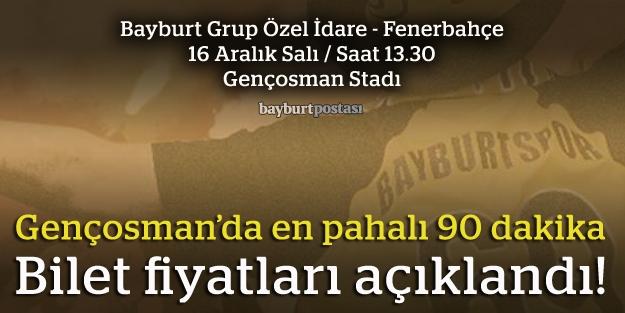 Fenerbahçe maçının bilet fiyatları ne kadar?