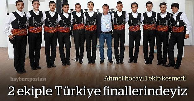 Folklorcularımız Türkiye finallerinde