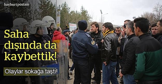 Gençosman'daki olaylar sokağa da taştı