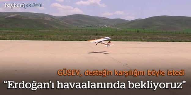 Gümüşhane, Erdoğan'ı Salyazı Havaalanı'na bekliyor