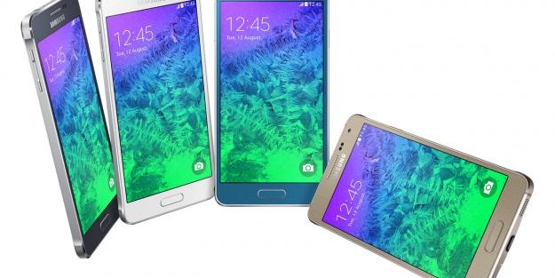 Güney Kore teknoloji devi, Galaxy Alpha'yı tanıttı
