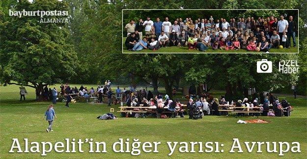 Gurbetteki Alapelitliler piknikte buluştu