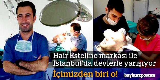 Hair Esteline ile İstanbul'da devlerle yarışıyor…