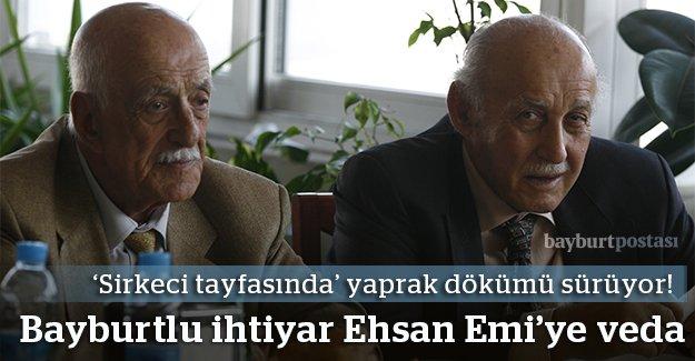 İhsan Hacıbeyoğlu'na veda...
