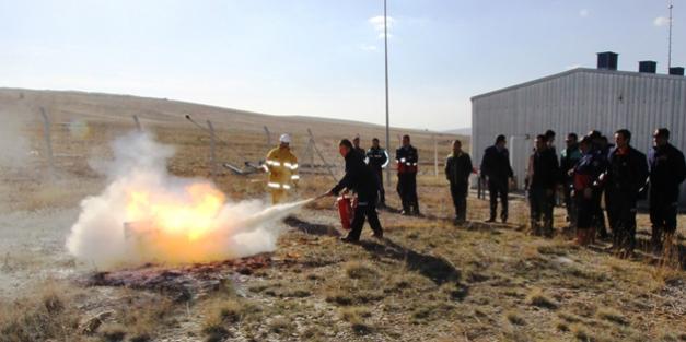İtfaiye ekiplerine doğalgaz eğitimi
