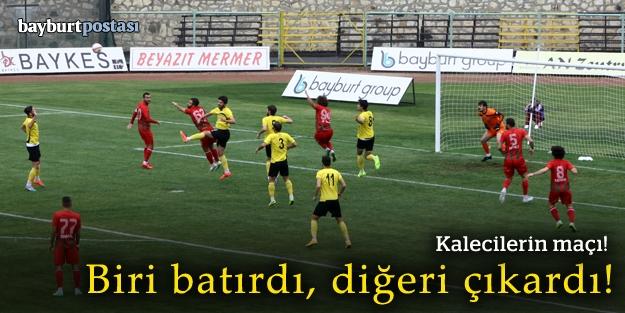 Kalecilerin maçı: Gençosman'da gol düellosu