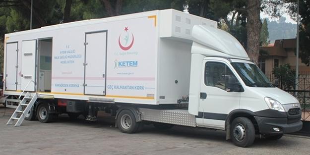 Kanserle mücadele için 'Mobil KETEM' uygulaması