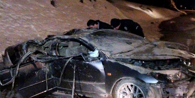 Kayışkıran'da trafik kazası: 2 yaralı