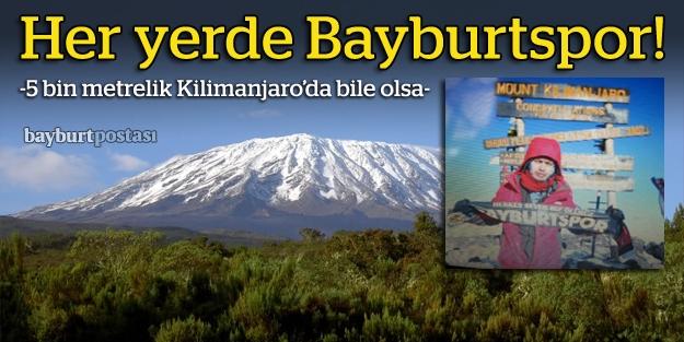 Kilimanjaro'dan 'gada' selamı