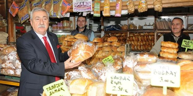 """""""Kişi başına 40 gram ekmek israf..."""