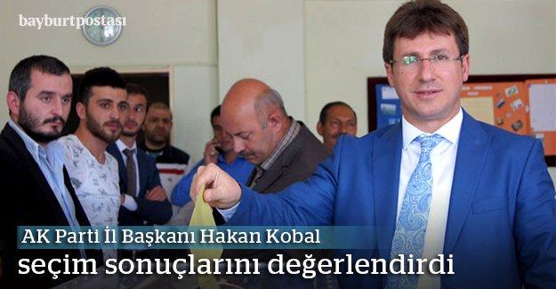 """Kobal: """"Ülkemiz için inşallah hayırlı olur"""""""