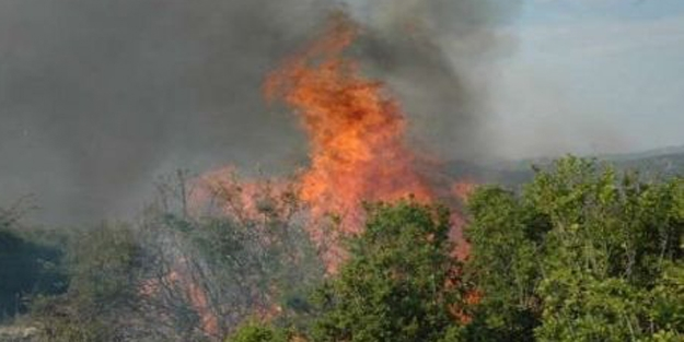 Komşuda büyük yangın