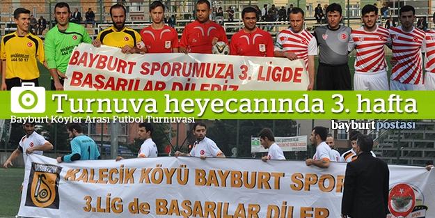 Köyler Arası Futbol turnuvasında heyecan dorukta