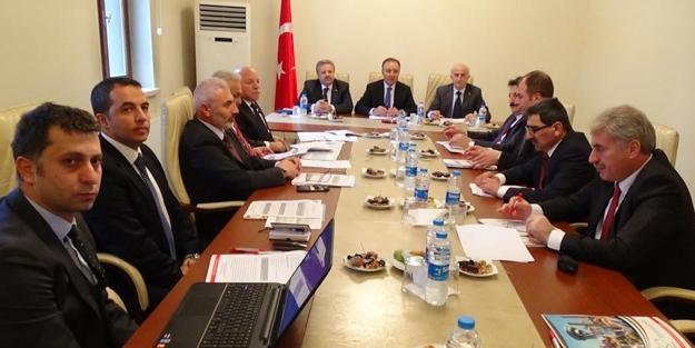 KUDAKA yönetim kurulu Erzincan'da...