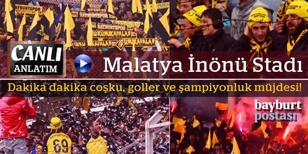 Malatya İnönü Stadı: 3-0 (CANLI ANLATIM)