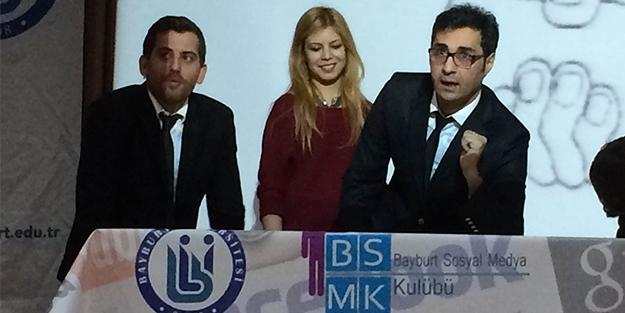"""Mehmet Derindağ'dan """"iletişim"""" dersi"""