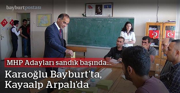 MHP adayları da oyunu kullandı