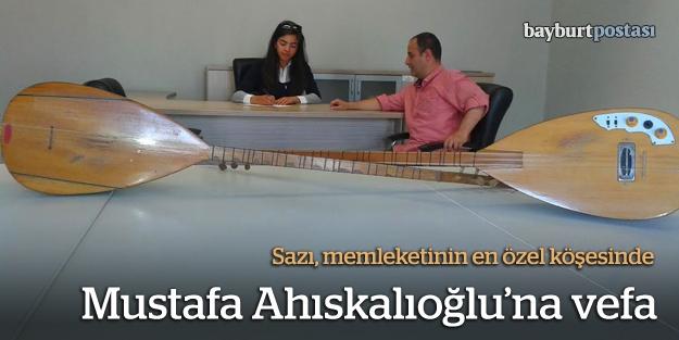 Mustafa Ahıskalıoğlu'na vefa