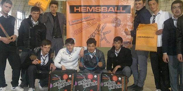 """Öğrencilerin """"Hemsball"""" heyecanı"""