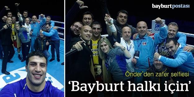 Önder Şipal'den zafer selfiesi
