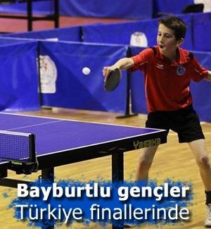Bayburtlu raketler Türkiye finalinde