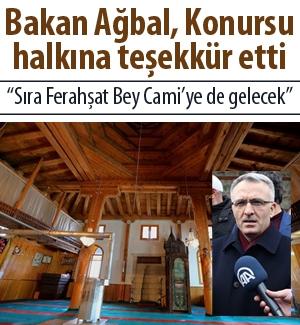 """""""Konursu Ulu Camii'nin restoresi tamamlandı"""""""