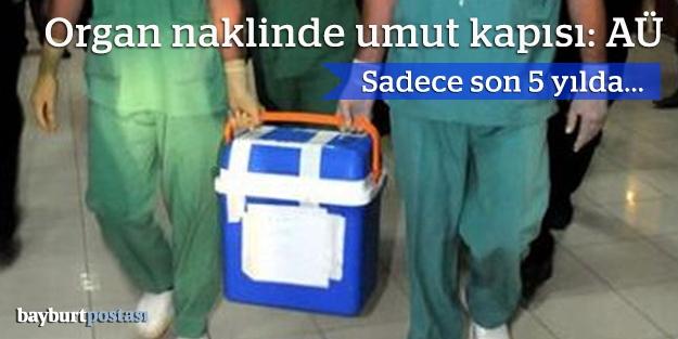 Organ naklinde umut kapısı: AÜ