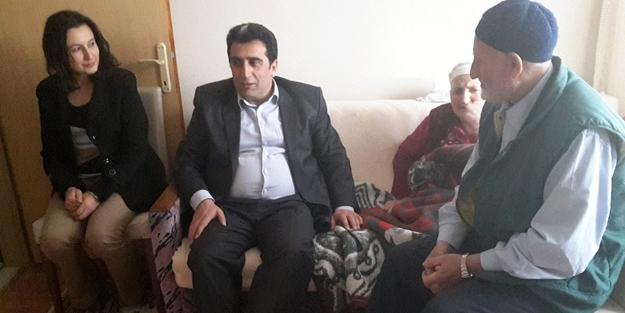 Özbek'ten hasta ziyaretleri