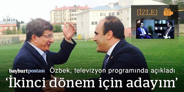 Özbek'ten samimi açıklamalar