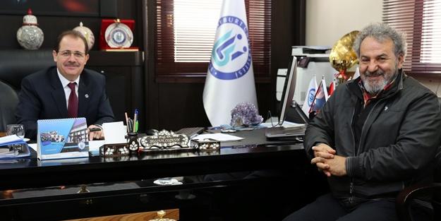 Prof. Koçan'dan Bayburt Üniversitesi'ne ziyaret