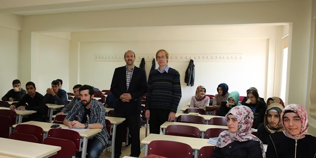 Prof. Mackerle, Bayburt Üniversitesi'nde