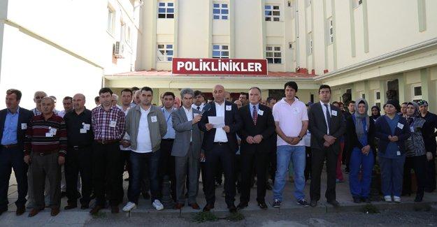 Samsun'daki vahşet Bayburt'ta kınandı