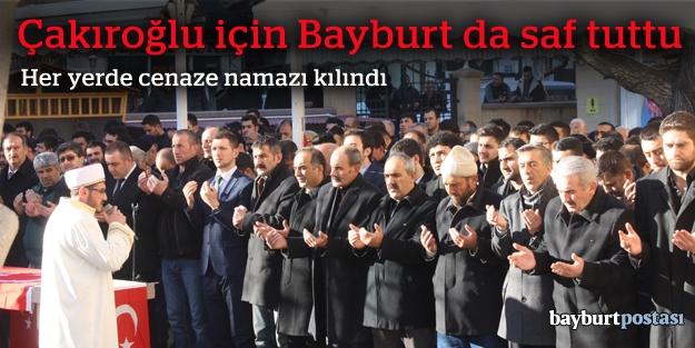 Şehit Çakıroğlu için gıyabi cenaze...