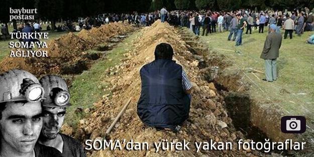 Soma'dan yürek dağlayan fotoğraflar