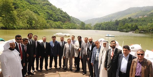 Suudi işadamları Doğu Karadeniz'de