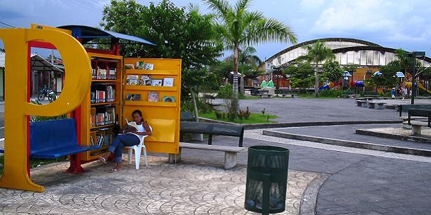 Taksi duraklarına kütüphane kuruluyor