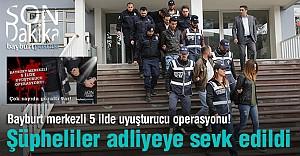 Adliyeye sevk edilen 19 kişi tutuklandı