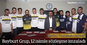 Bayburt Grup, yeni transferlerini tanıttı