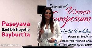 Ganire Paşayeva Bayburt#039;ta