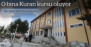 Arpalı Oteli, Kur'an kursu olacak