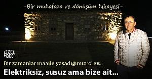 Türkiye enerjisine yön veriyor, elektriksiz evde tatil yapıyor
