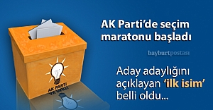 AK Parti#039;de ilk aday adayı belli oldu
