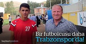 Bir futbolcusu daha Trabzonspor'da!