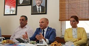 CHP'li Tarhan Bayburt'ta ülke gündemini değerlendirdi