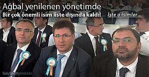 AK Parti yönetimi büyük ölçüde yenilendi