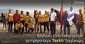 Bayburt Atlı Spor, şampiyonaya #039;farklı#039; başladı