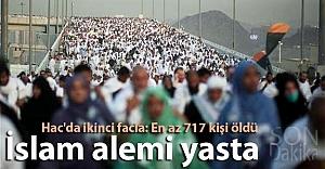 Hac'da ikinci facia: En az 717 kişi öldü