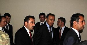 Seçim güvenliği toplantısı Erzurum'da...